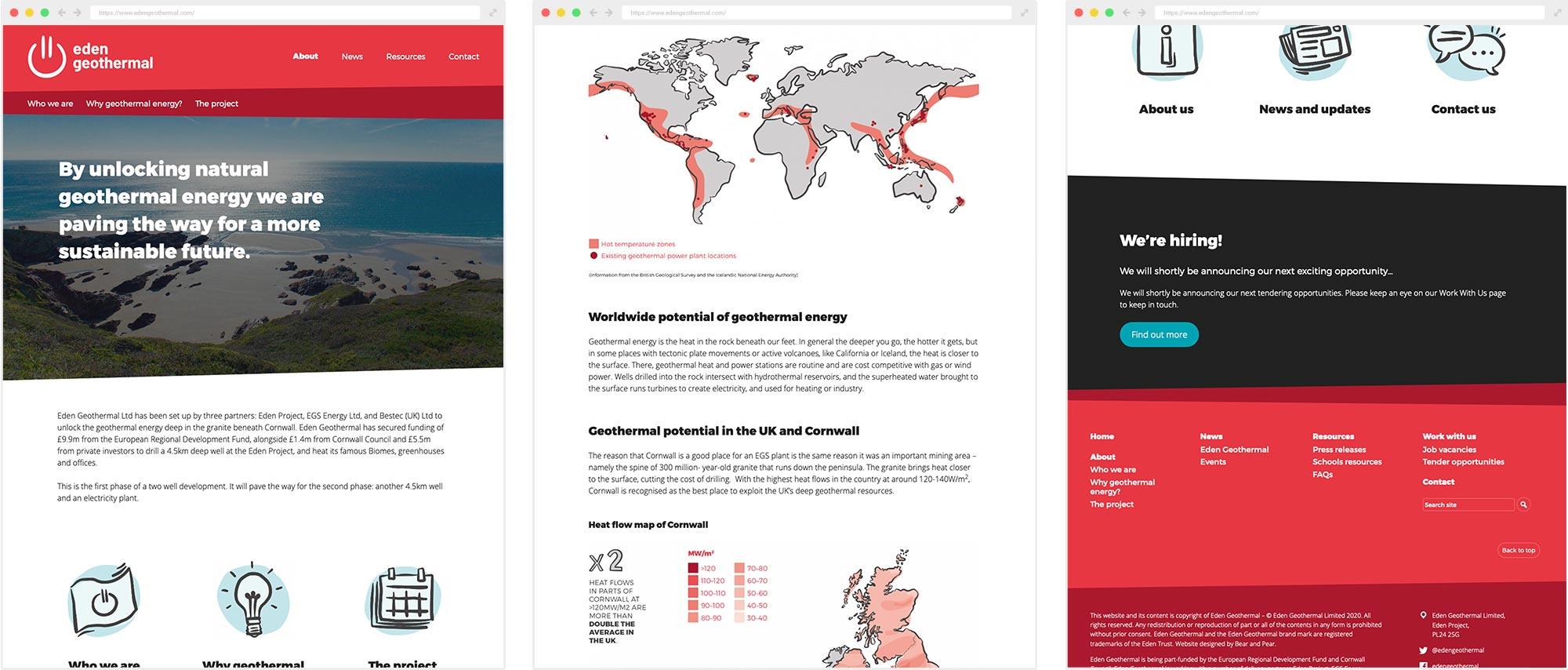 Eden Geothermal website