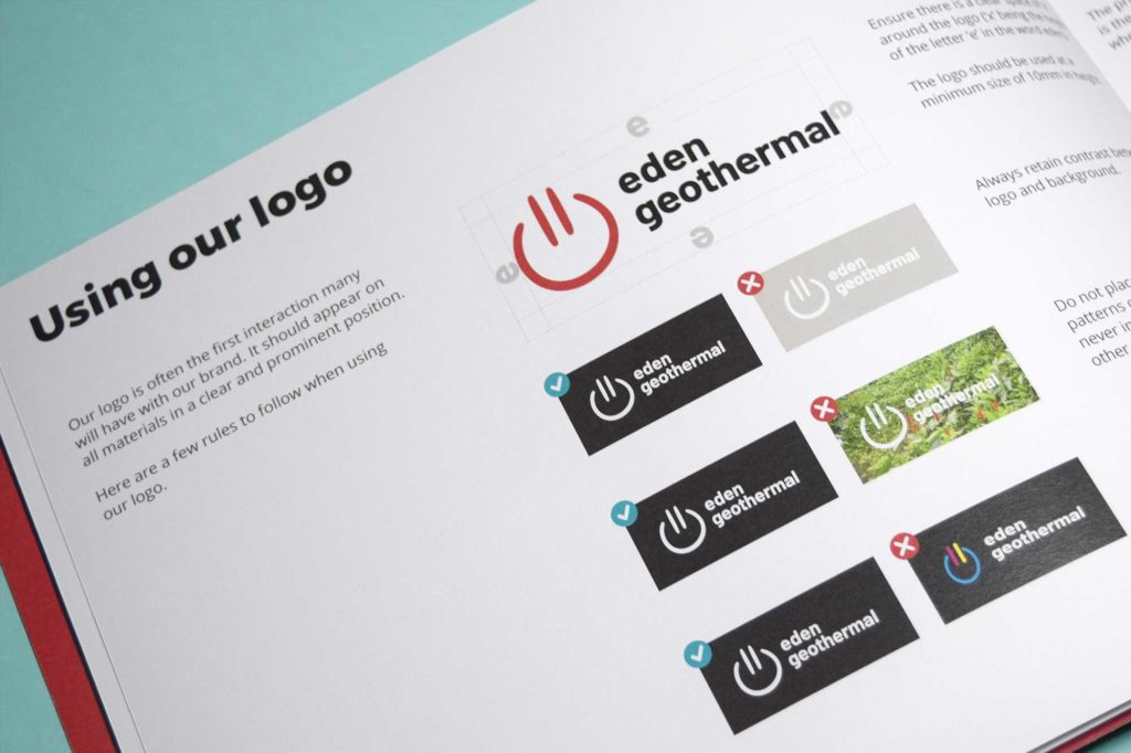 Eden Geothermal identity guidelines